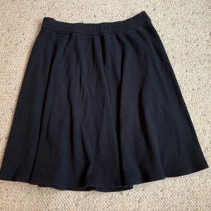 Black Hollister Skater Skirt